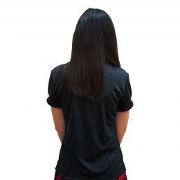 Female Red Shirt Image 3